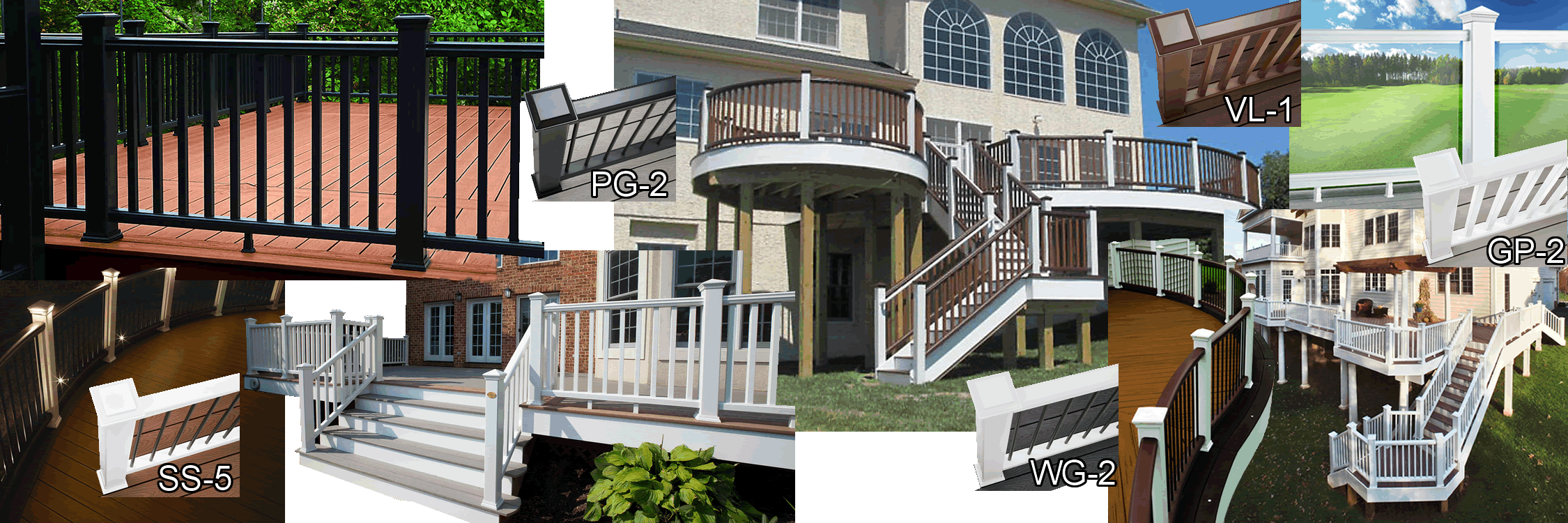 transcend crown railing example pictures and duo
