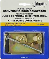 image of le johnson converging pocker door kit package