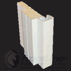 frontline white crown casing 3D section