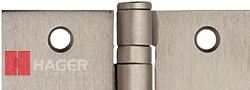 hager us15 satin nickel hinge color and example